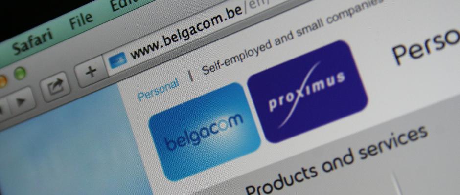 Belgacom.be under magnolia